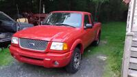 2002 Ford Ranger 2wd 3.0L ext cab