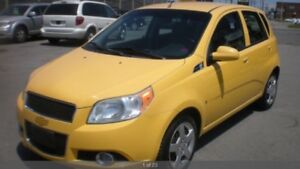 2009 Chevrolet Aveo LS ONE OWNER LOW KM NO ACCIDENT CERFTIFIED