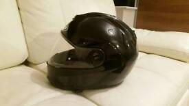 Hjc flip up helmet with built in sunglass size L