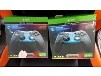 2 x xbox one and windows spectra controllers for sale (NEW)