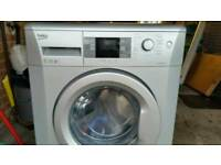 BEKO WMB714422 1400rpm slim depth (50cm Silver Washing Machine