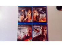 Complete Die Hard bluray collection