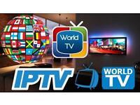 🌎📡12 month world tv subscription + app