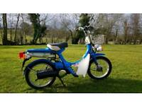 1980 Honda NC50 Express Deluxe 12 Months MOT Vintage Retro Moped Scooter
