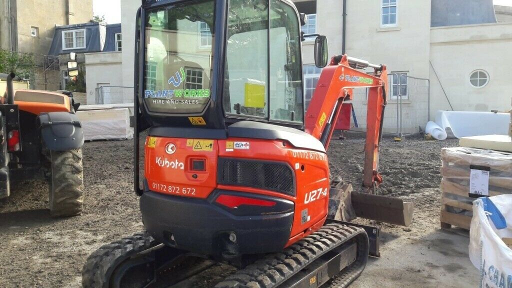 U27 Kubota excavator - 2017 - Whites buckets and manual quick hitch -  approx 800 hours | in Keynsham, Bristol | Gumtree