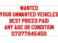 Wanted your old cars
