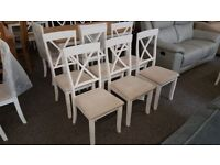 6 Davenport Dinning Chairs By Julian Bowen Can Deliver