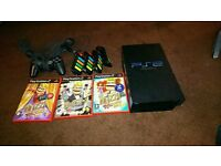 Playstation Ps2 with games