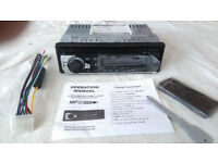 New unused car radio MP3 SD