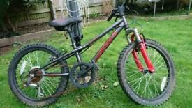 """Kids bike 15"""" wheels red"""