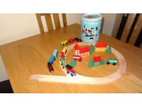 Wooden Railway (used once)