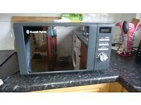Russell Hobbs RHM2064G Grey 20L Digital Microwave. DAMAGE !!!