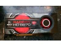 HD6870 graphics card
