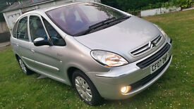 CITROEN picasso 1.6 HDi ,very low mileage (sale R swap )