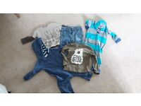 Baby Boy clothes bundle - 9 - 12m