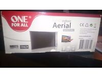 one for all digitaltv aerial 40db. rrp £29.99