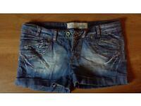 Te Quiero Jeans shorts-size M