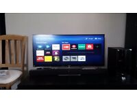 "Used LG 34UM95 34"" Ultrawide IPS Monitor (3440x1442, HDMIx2, DP, Thunderbolt 2 x2, Speakers)"