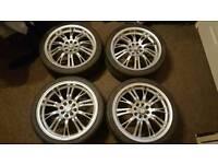 """110 17"""" alloy wheels"""