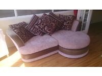 CUDDLE SOFA WITH SCATTER BACK CUSHIONS