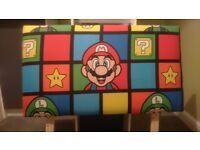 Super Mario headboard