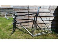 Dawes Shadow steel frameset fixed gear, road bike