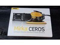 Mirka Compact Electric Random Orbital Sander CEROS 650CV 240v