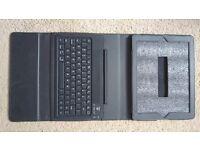 NEW LEATHER iPad Air 2 Keyboard Case TeckNet Folio Bluetooth Wireless