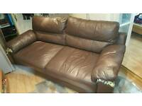 Free to Collector - 3 seater, faux leather sofa