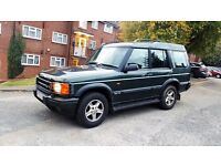 LAND ROVER DISCOVERY TD5 2.5 DIESEL 1 YEAR MOT 4X4 7 SEATER. .