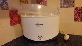 Tommee Tippee Electric Steam Sterilizer for 6 Bottles (also for Avent Bottles)