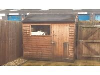 Shed 8x6 ft - used - already dismantled