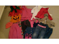 2-3 years girls clothes bundle (23 items)
