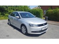 Automatic VW Jetta ,full service history,1 year mot,sat nav,blue tooth,reverse camera,immaculate