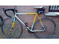Carrelli Steel Road Racing Bike 54cm Frame