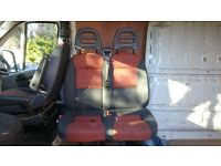 Fiat Ducato front seats 2010