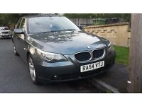 Bmw E60 525d grey black leather automatic