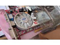 sapphire x1600 pro AGP interface NOT PCI-E graphic card - video card