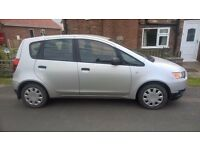 Mitsubishi Colt, 5 door, 1.1L LOW MILEAGE