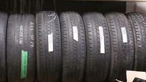 Set of four 225 65 17 tires for sale!