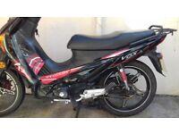 Peugeot Vox 110 2014 Scooter Motorcycle MOT Black