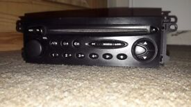 Citroen Xsara Picasso car stereo radio head unit