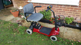 NEW BATTERIES Lightweight Portable Car Boot Mobility Scooter