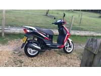 2015 50cc moped