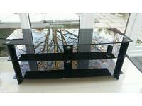 TV glass stand unit