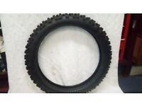"Vintage classic Pirelli Motocross tyre 20"" Bultaco, Greeves, Bsa"