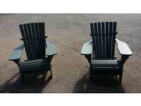 2 very comfortable Adirondack Chairs