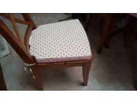 Single Reversible Chair Cushion