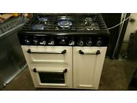 Smeg 90cm range cooker fully reconditioned