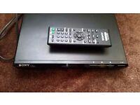 Sony DVP-SR170 DVD Player Scart Output Dolby Digital Region 2 Black w/ Remote